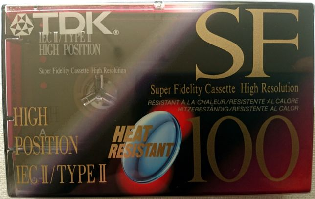 TDK SF 100 - kaseta magnetofonowa - folia