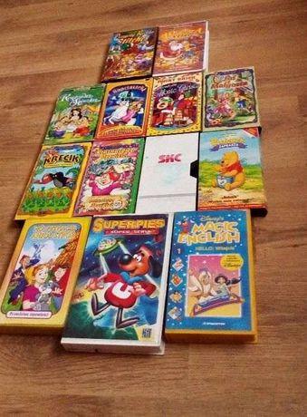 Bajki kasety dla dzieci. Cena 30zl za 13 sztuk