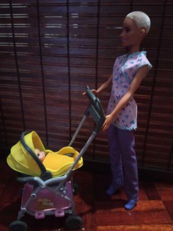 Barbie babysiter