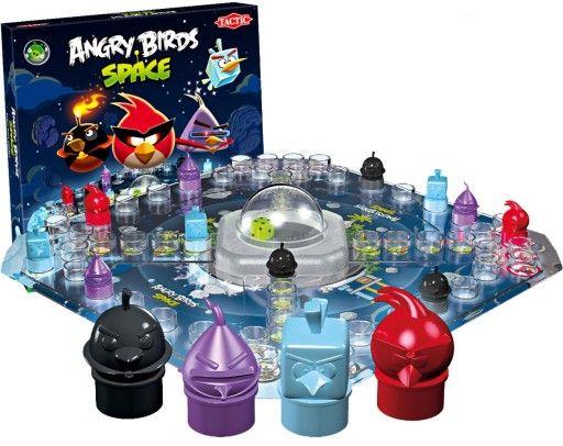 Ideał! Gra Tactic Angry Birds Space gra bez prądu planszowa rodzinna