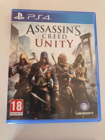 Assassins Creed Unity e God of War PS4