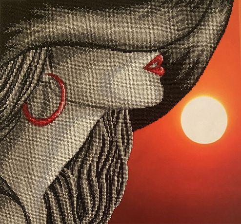 Картина «Дівчина і море»