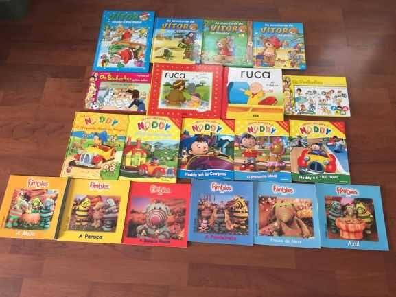 Livros (19) histórias de séries infantis
