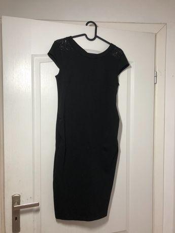 Czarna ciążowa sukienka H&M mama
