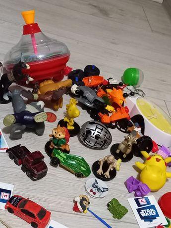 Zestaw zabawek kapsle kolekcja 176szt inne