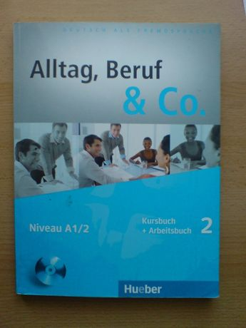 książka Alltag Beruf & Co. 2. Kursbuch + Arbeitsbuch