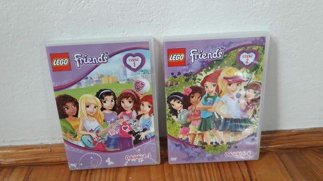 NOWE Płyty CD z bajką Lego Friends