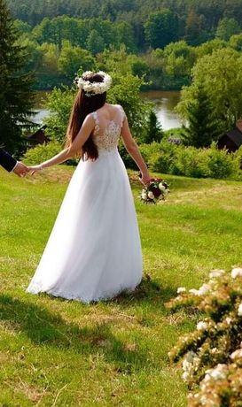 Suknia ślubna, ślub, wesele, sukienka, welon