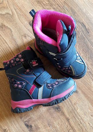 Зимові термо чобітки 26 розмір