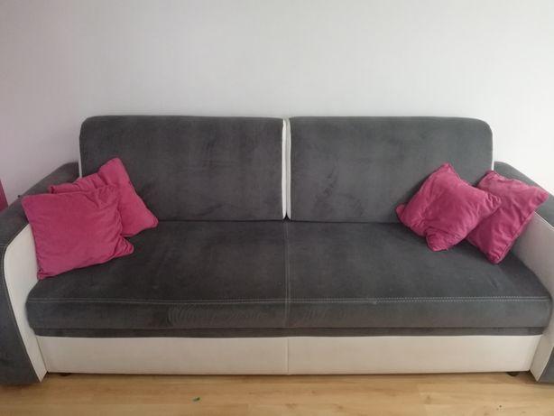 Komplet wypoczynkowy sofa plus fotele