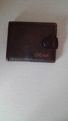 Бумажник кошелек коричневый
