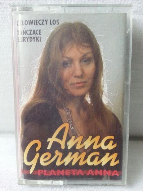 Kaseta magnetofonowa Anna German Planeta Anna