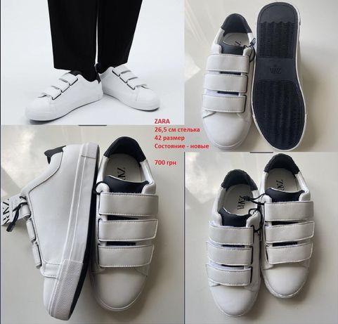Кроссовки мужские Zara 42 размер