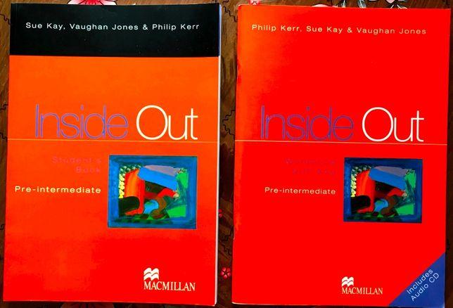 Комплект Inside Out обучение Английскому языку Новый учебник+тетрадь