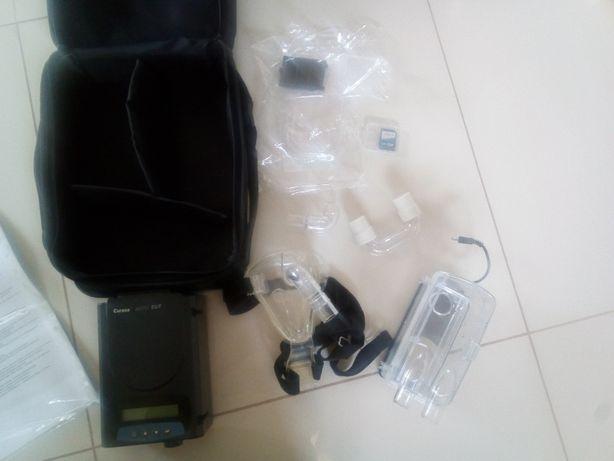 Proteza aparat powietrzny leczenie chrapanie curasa curative z maską