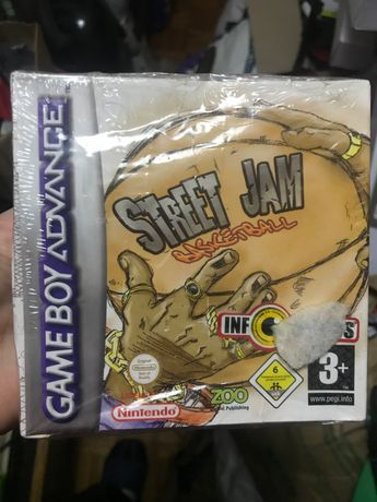 Jogo antigo Street Jam game boy advance novo