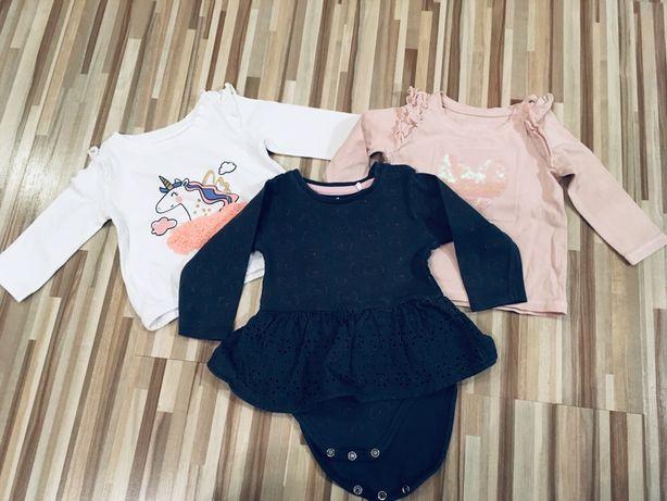 Body, bluzki, reserved, H&M rozmiar 62