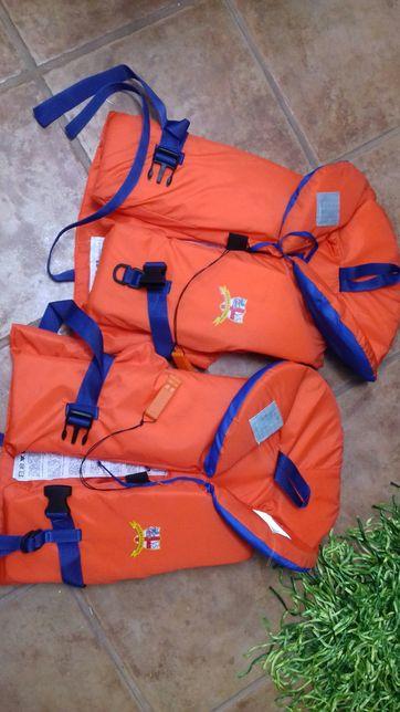 2 coletes salvavidas p/ criança