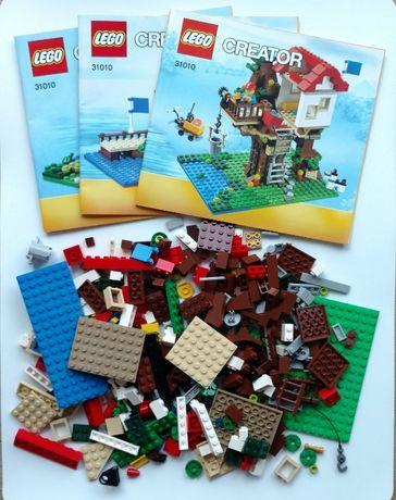 Lego creator 31010 treehouse, domek na drzewie, 3 w 1, duży 356 el.