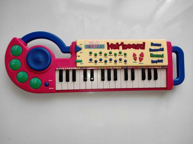 Детский синтезатор  пианино Bontempi MK3331 Германия