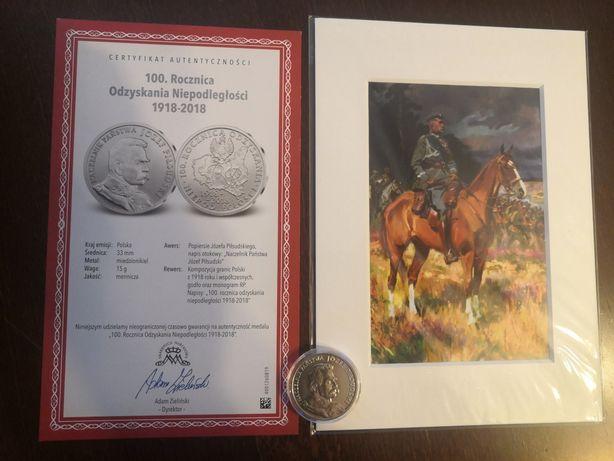 Moneta - Naczelnik Państwa Józef Piłsudski