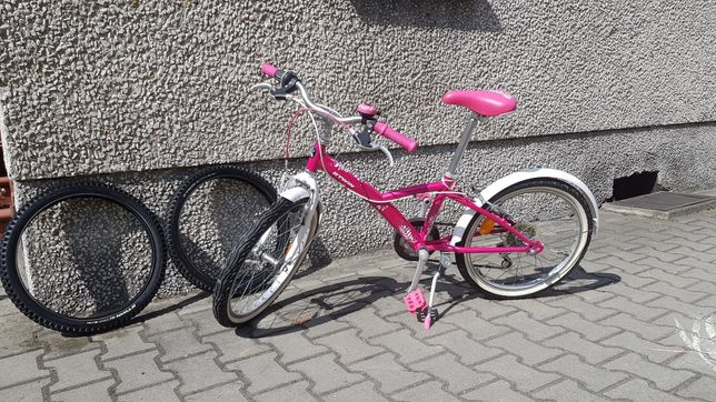 Rower 20' dziewczynka Mistigirl Decathlon