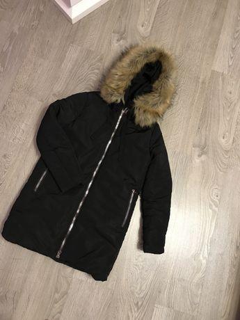 Зимняя куртка пуховик женская куртка теплая пальто парка