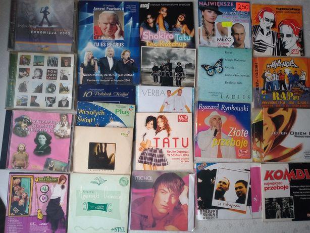 Płyty cd używane różne komplet muzyka