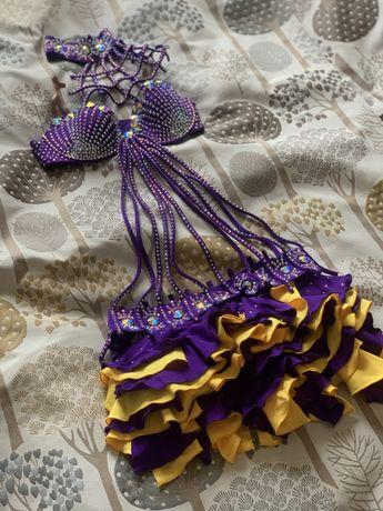 Бальное Платье в камнях Латина