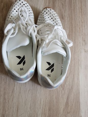 Buty z siateczki