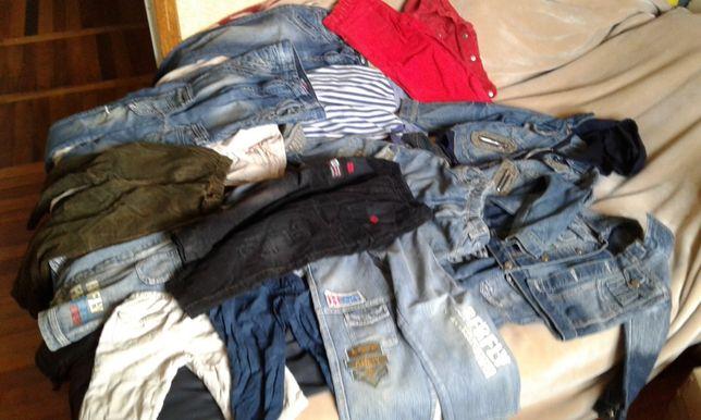 Штаны джинсы костюм на мальчика 3-5 лет