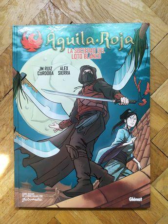 Komiks Aguila Roja , Czerwony orzeł z Hiszpanii. Niedostępny w Polsce