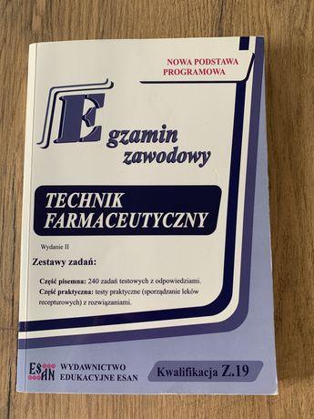 Egzamin zawodowy technik farmaceutyczny ESAN