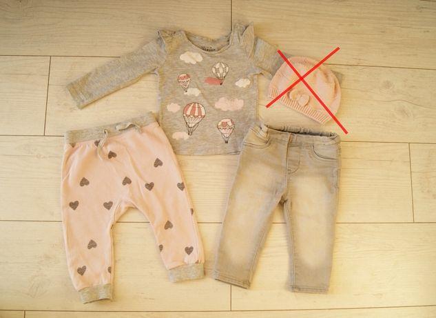 Ubranka dla dziewczynki H&M r.74