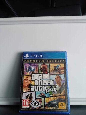 Grand Theft Auto V (5) Premium Edition PS4 (NOVO/SELADO)