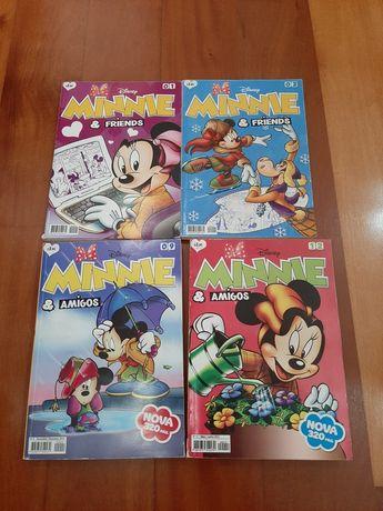 Livros da Banda desenhada Minnie