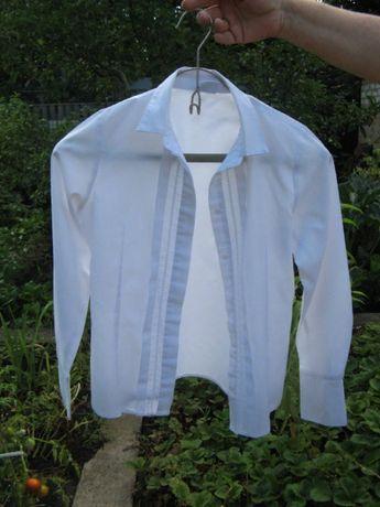 Блузка импортная белая на девочку 10 -12 лет