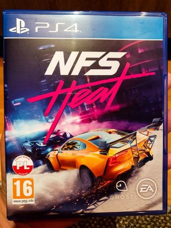 Need For Speed - Heat -- Polska wersja -- gry na SONY PS4