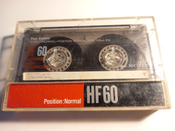 Kaseta magnetofonowa Sony HF 60