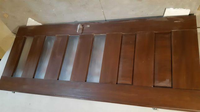 Drzwi drewniane tymczasowe