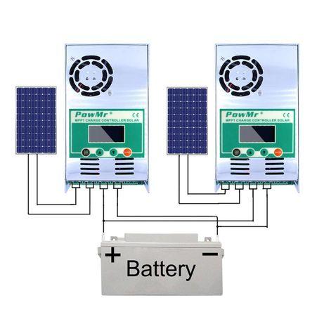 Контроллер заряда для солнечных панелей PowMr MPPT 60A