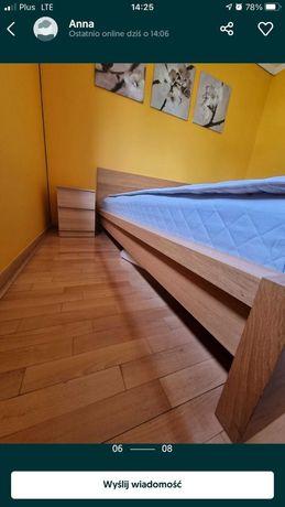 Ikea łóżko Malm 180x200