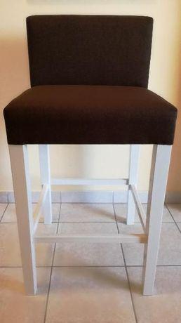 Hoker - krzesło barowe tapicerowane