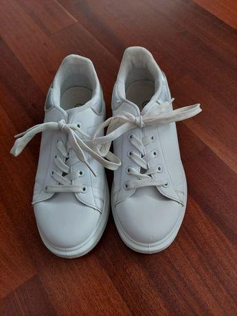 Adidasy białe, buty białe r. 34