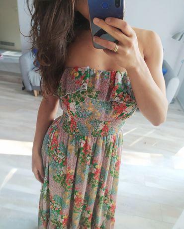 Sukienka w kwiaty M L