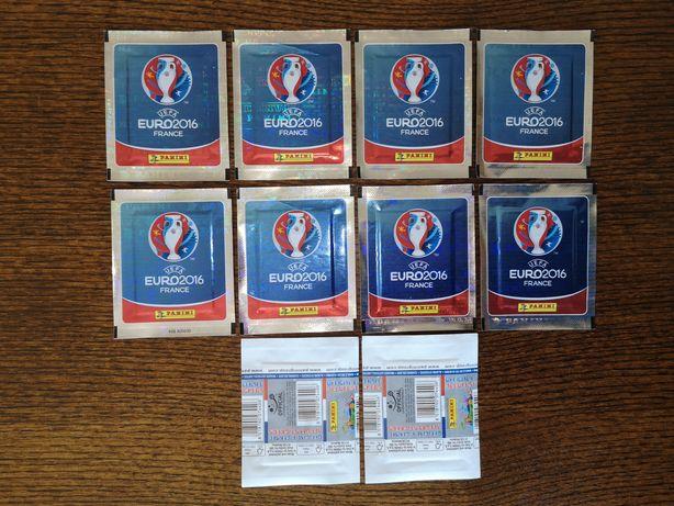 PANINI 20 Saquetas cromos Euro 2016