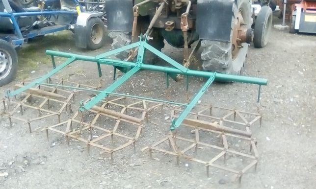 Brony 3 do traktorka na działkę,szerokość 250cm.