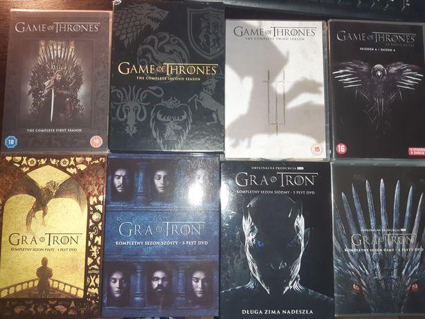 Gra o tron wszystkie sezony 1-8 DVD