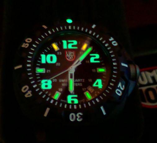 Часы Luminоx XL.0201.SL(swiss made)с тритиевой подсветкой.