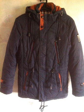 Куртка-парка зимняя на подростка